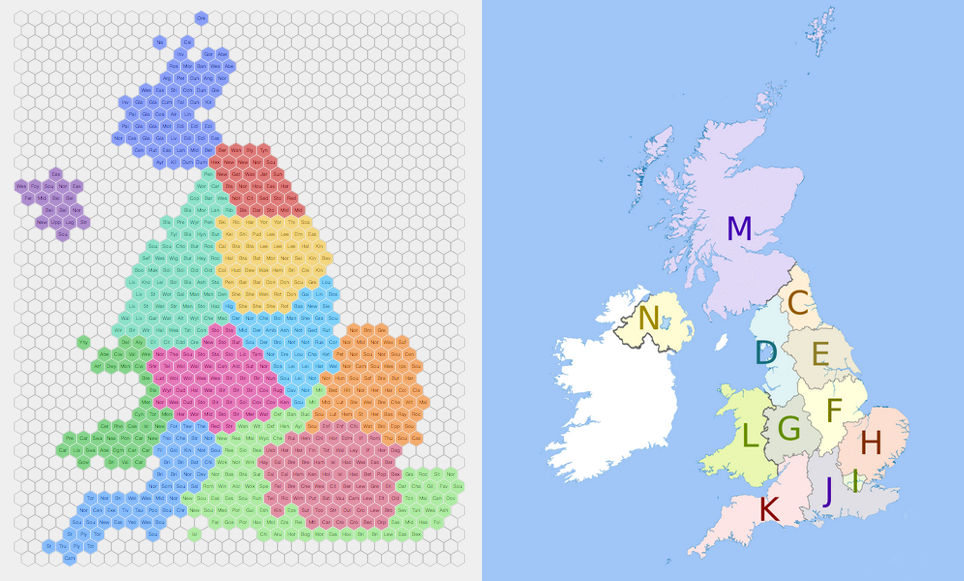 Election Hex Mapping Odi Leeds